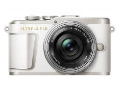 OLYMPUS PEN E-PL9 bel+ 14-42mm 1:3.5-5.6 EZ srebrn Pancake - V205092WE000 - 4545350051891