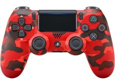 Playstation PS4 dodatek dualshock Red Camouflage