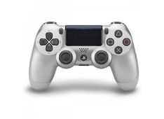Playstation PS4 dodatek dualshock silver V2