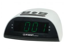 Radiobudilka FIRST, PLL AM/FM 20 postaj, 2x alarm